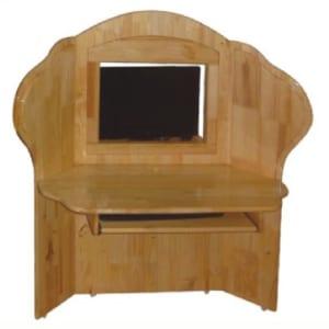 Bàn ghế Kidsmart gỗ thông