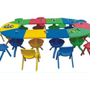 Bàn ghế trẻ em lắp ráp