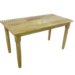 Bàn gỗ thông chân gỗ