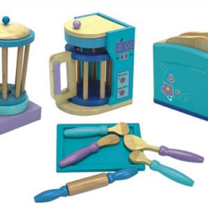 Bộ dụng cụ nhà bếp bằng gỗ
