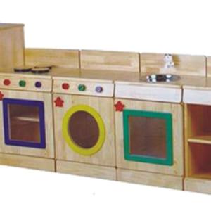 Giá đồ chơi hình tủ bếp