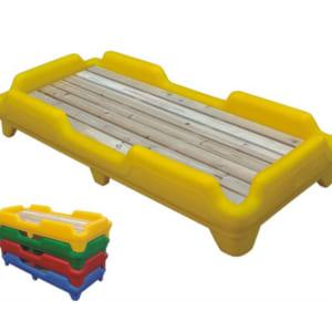Giường mẫu giáo khung nhựa