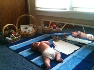 Không gian cho bé hoạt động