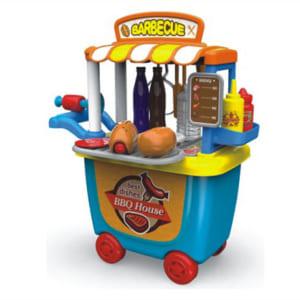 Quầy đồ chơi bán đồ ăn