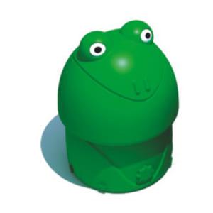 Thùng rác hình con ếch