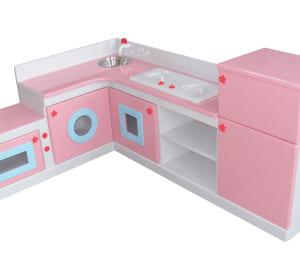 Tủ bếp đồ chơi bằng gỗ