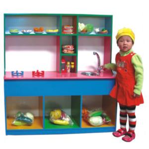 Tủ bếp đồ chơi cho bé