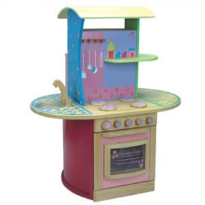 Tủ bếp đồ chơi gỗ cho bé