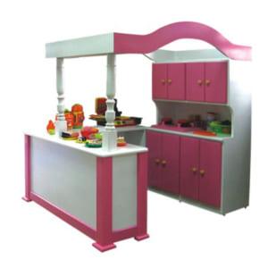 Tủ bếp gỗ mầm non