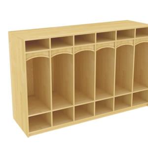 Tủ đồ cá nhân bằng gỗ