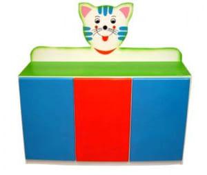 Tủ đựng chăn chiếu màn hình mèo