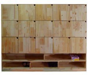 Tủ gỗ đựng balo