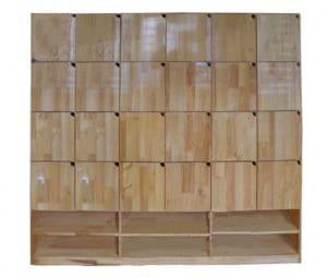 Tủ tư trang gỗ thông