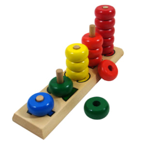 5 cột tính 5 màu