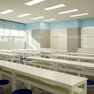 Bàn ghế trường học hiện đại