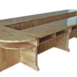 Bàn họp bằng gỗ văn phòng