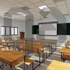 Bàn liền ghế sinh viên