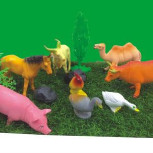 Bộ đồ chơi động vật nuôi trong nhà