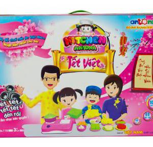 """Bộ đồ chơi nấu ăn""""Kitchen Antona - Tết Việt"""""""