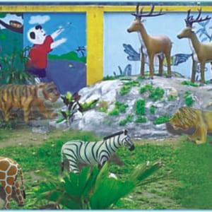 Bộ động vật sống trong rừng