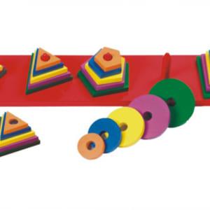 Bộ dụng cụ 5 hình học