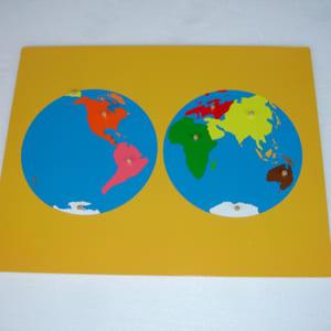 Bộ ghép bản đồ thế giới