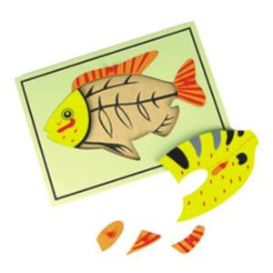 Bộ ghép hình cá
