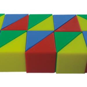 Bộ khối tam giác xếp hình