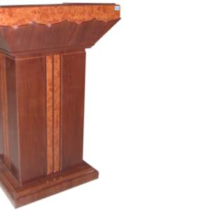 Bục giảng dạy bằng gỗ