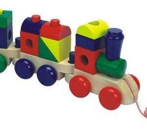Dây kéo đoàn tàu gỗ