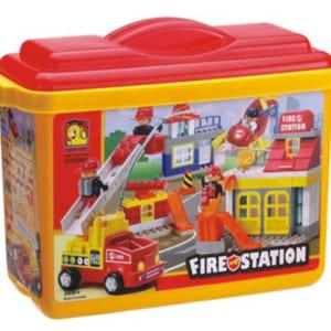 Đồ chơi lắp ráp trạm cứu hỏa