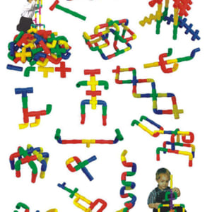Đồ chơi xếp hình từ ống nước