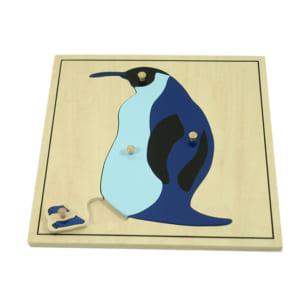 Ghép hình con chim cánh cụt