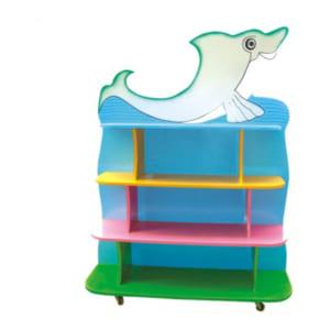 Giá để đồ chơi cá heo cho trẻ