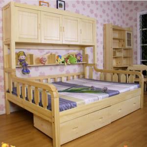 Giường ngủ bằng gỗ cho bé
