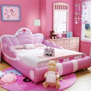 Giường ngủ công chúa cho bé gái