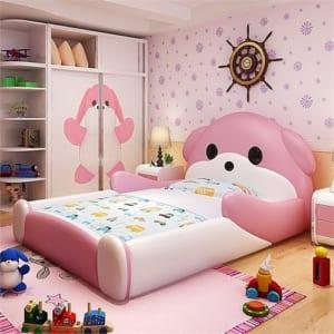Giường ngủ hình cún yêu