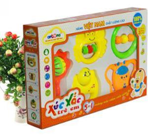 Hộp đồ chơi 5 chiếc xúc xắc