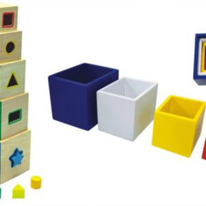 Lồng hộp vuông gỗ