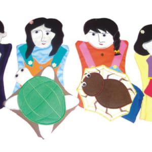Rối tay kể chuyện Ba cô gái