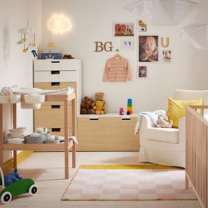 Thiết kế phòng ngủ bé