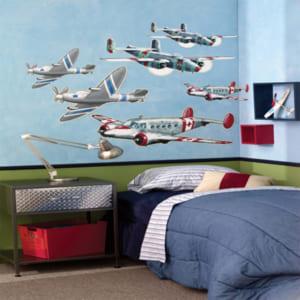 Trang trí phòng ngủ đẹp cho bé trai