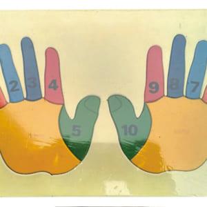 Tranh ghép bàn tay học đếm
