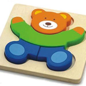 Tranh ghép hình con gấu
