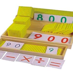 Trò chơi ngân hàng Montessori