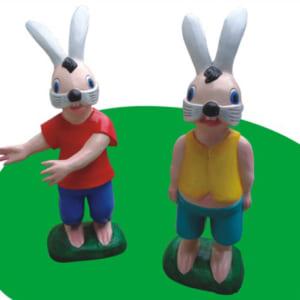 Tượng con thỏ
