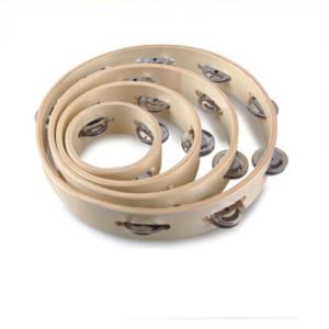 Xắc xô tròn bằng gỗ