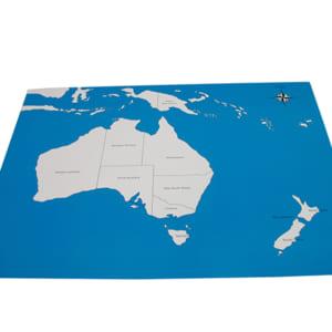 Bản đồ châu Úc