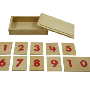 Bộ thẻ ghép số Montessori