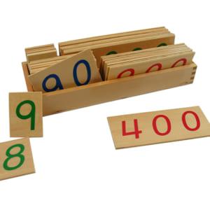 Các thẻ số từ 1 đến 9000 cỡ lớn